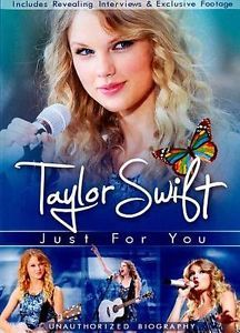 Taylor Swift: Just for You (DVD, 2011) Documentary New Sealed Usa Version