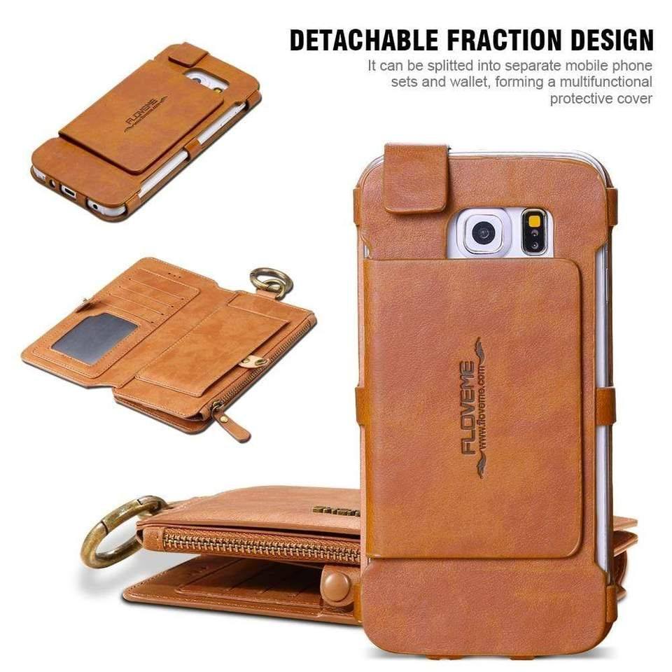 4 IN 1 LUXURY LEATHER CASE For Samsung (With images