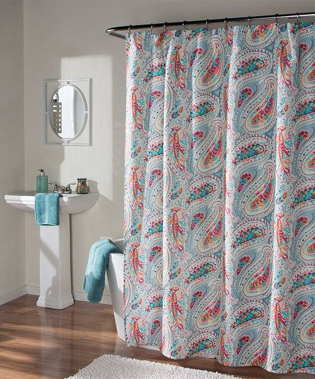 Perfectly Paisley Shower Curtain