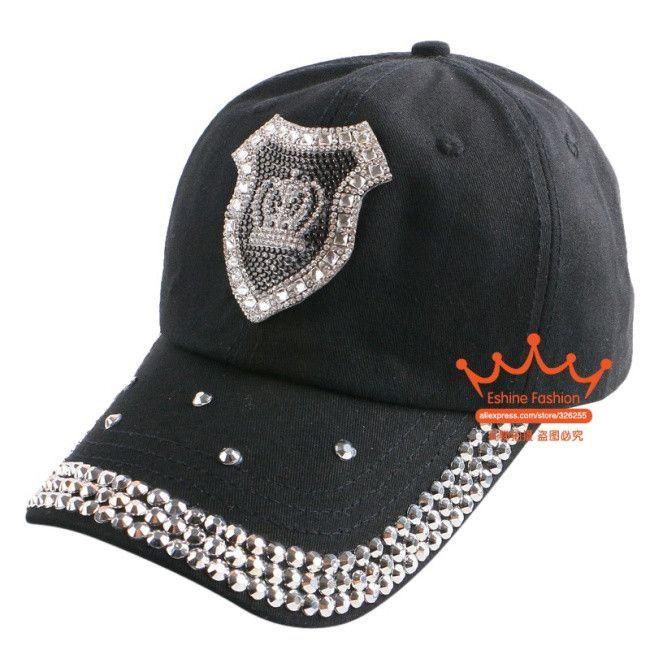 db9ba38208264 2016 new fashion women woman beauty baseball cap rhinestone star owl crown  pattern luxury hip hop snapback summer brand gorra