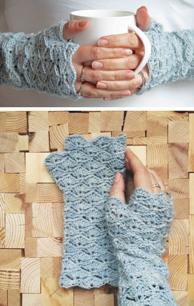 0e3b7827075 27 Crochet Projects That Are Going To Make You Want To Learn How To Crochet   Fingerless Glove Crochet Pattern from Crejjtion
