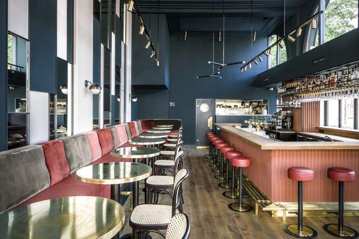 Waldeck bar by framework studio amsterdam u2013 netherlands » retail