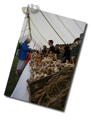 The Isle of Wight Garlic Festival. 18th-19th August 2012 (OK, I know it's not the same as the exotic destinations but I really like garlic!