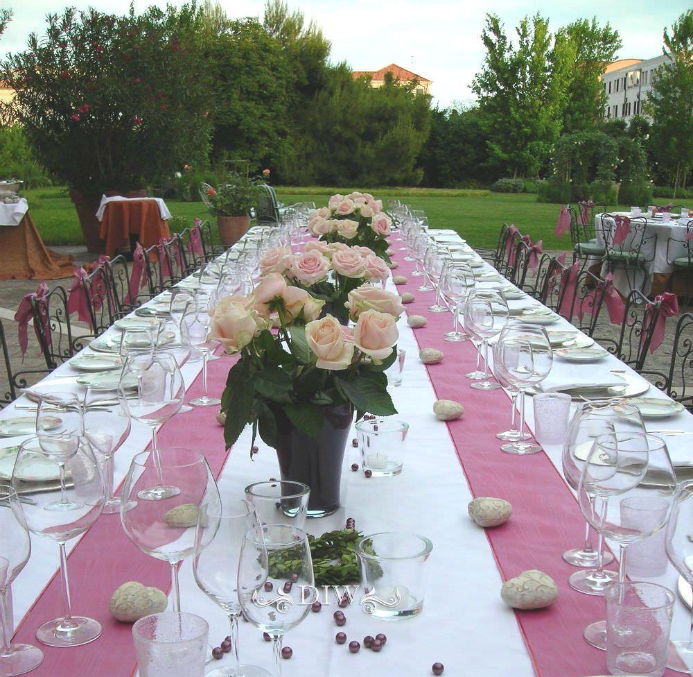 Venice Wedding Reception Table
