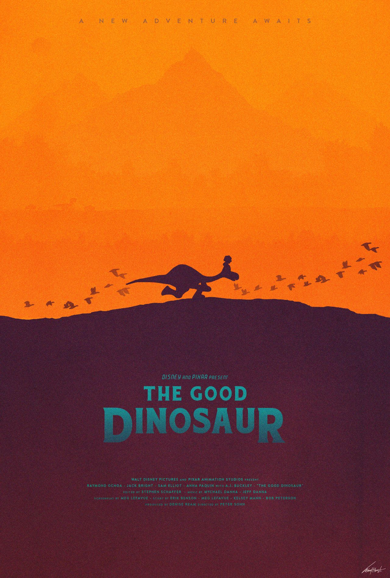 arlo and spot the good dinosaur poster by on deviantart poster. Black Bedroom Furniture Sets. Home Design Ideas