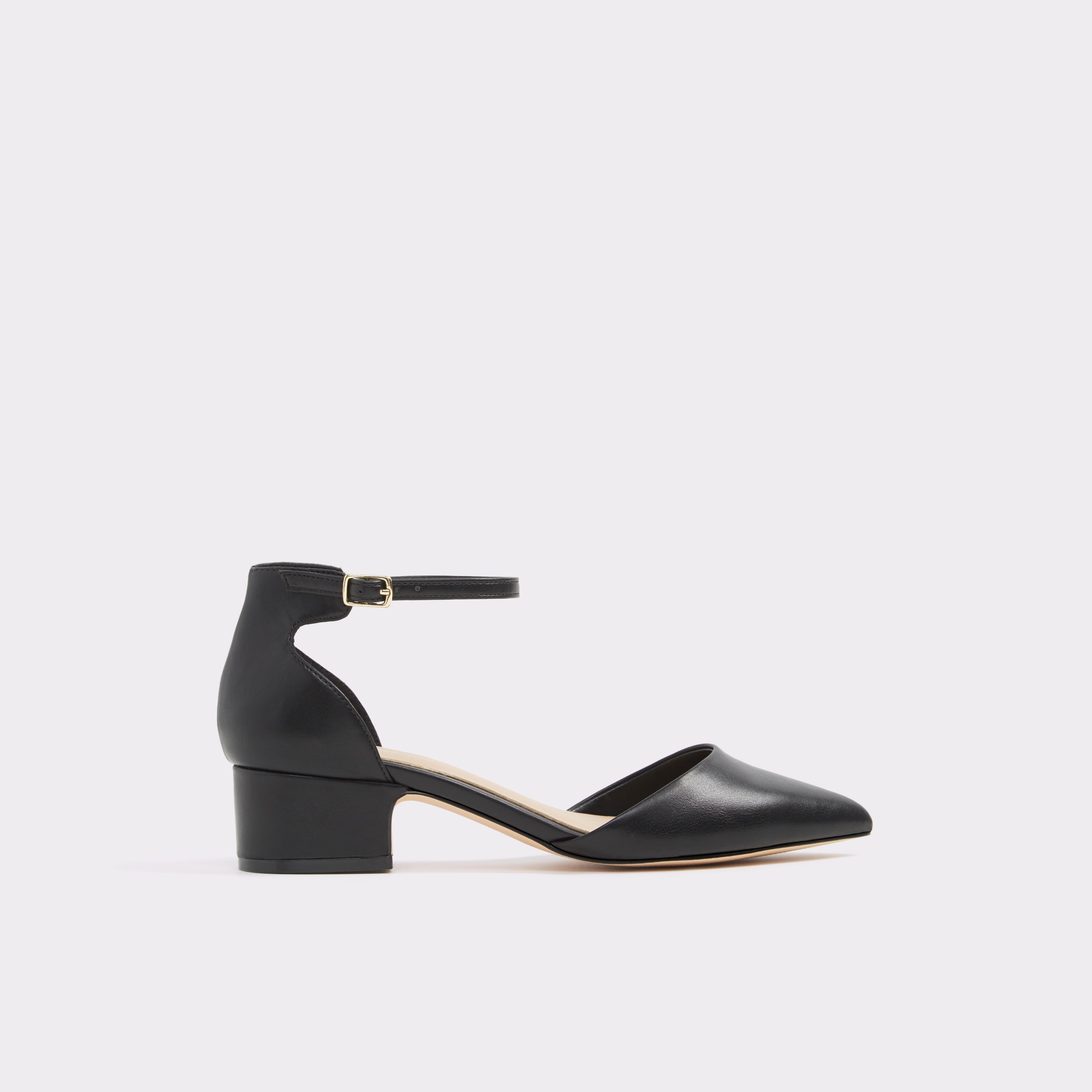 411b614c23d Zusien-N Black Women s Low-mid heels