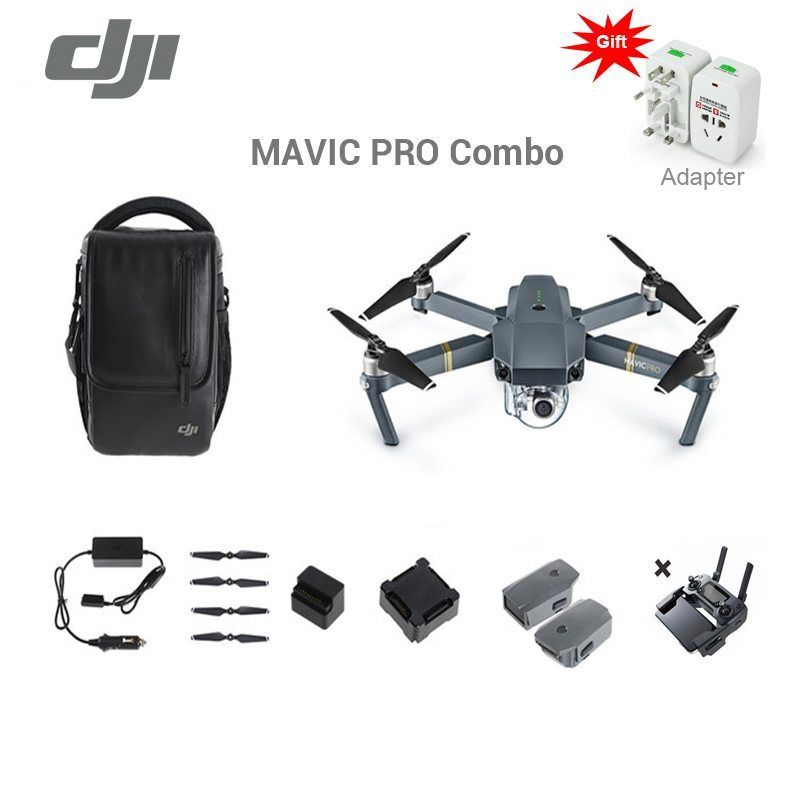 Dji Mavic Pro Drone Fly More Combo With 4k Video 1080p Camera Rc