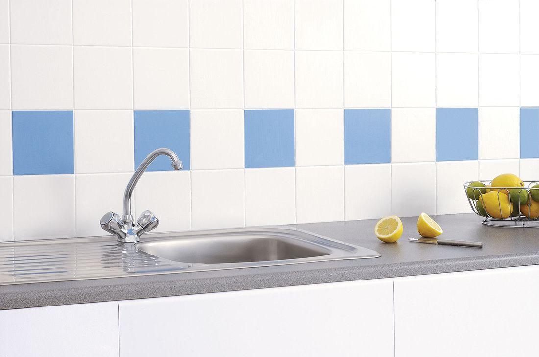 Renovar la cocina o el baño pintando simplemente los azulejos ...