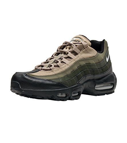 uk availability 77778 ecd0d Nike Air Max 95 Essential Men Black Sequoia Cargo Khaki White 749766-024  (12)