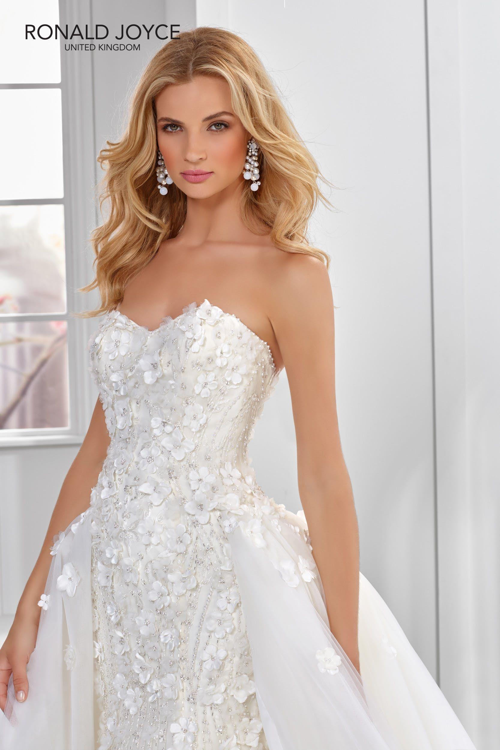 Ronald joyce wedding dress in pinterest ronald joyce
