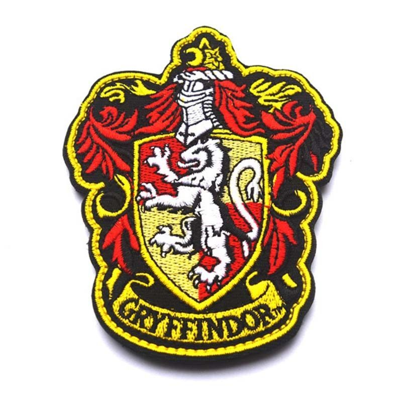 3c97427ac61 $3.79 - Harry Potter House Of Gryffindor Crest Embroidered Cosplay ...