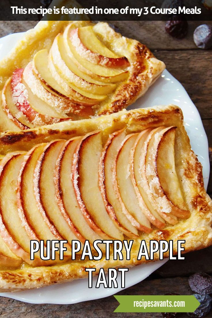 I Conquered This Recipe - Puff Pastry Apple Tart