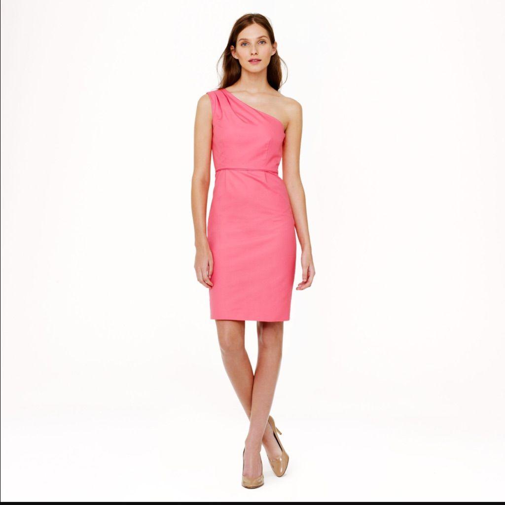 Jcrew Dress Pink