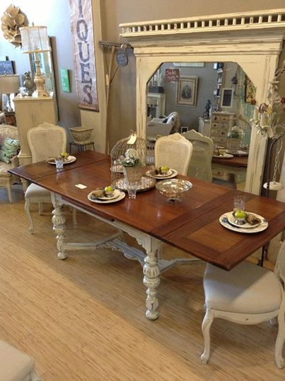 8' Antique Table With Hidden Pull Out Leaves  Some Of Our Work Beauteous Dining Room Table With Pull Out Leaves Design Decoration
