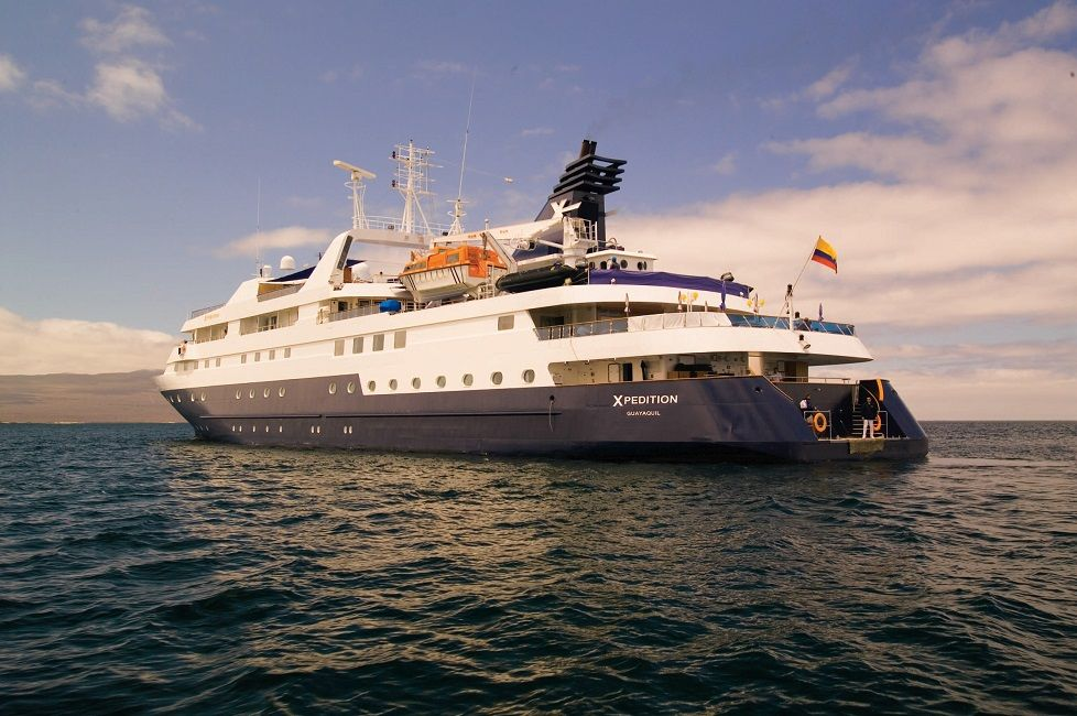 Sailing to the legendary Galapagos Islands the