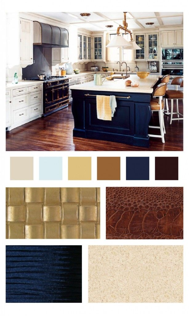 navy & brass kitchen | Distillery Ideas | Pinterest | De todo, Hogar ...