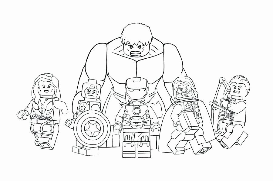 Marvel Avengers Hulkbuster Coloring Pages