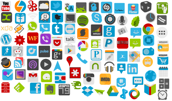"84 All New ""Flat Icons"" Are Now Ready For The Downloading"