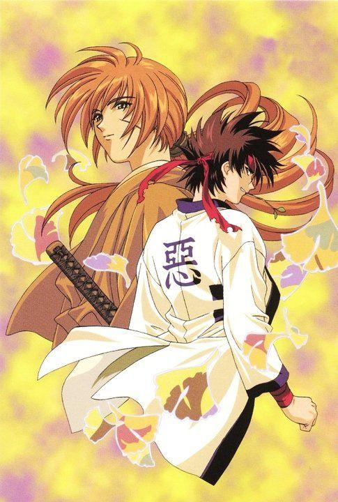 Kenshin And Sanosuke Samurai X Kenshin Anime Bleach Anime Rurouni Kenshin Download wallpaper anime samurai x
