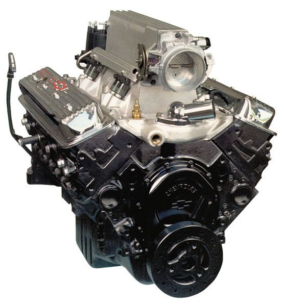 Crate Engine Complete Ram Jet 350 Chevrolet Gm 12499120 With