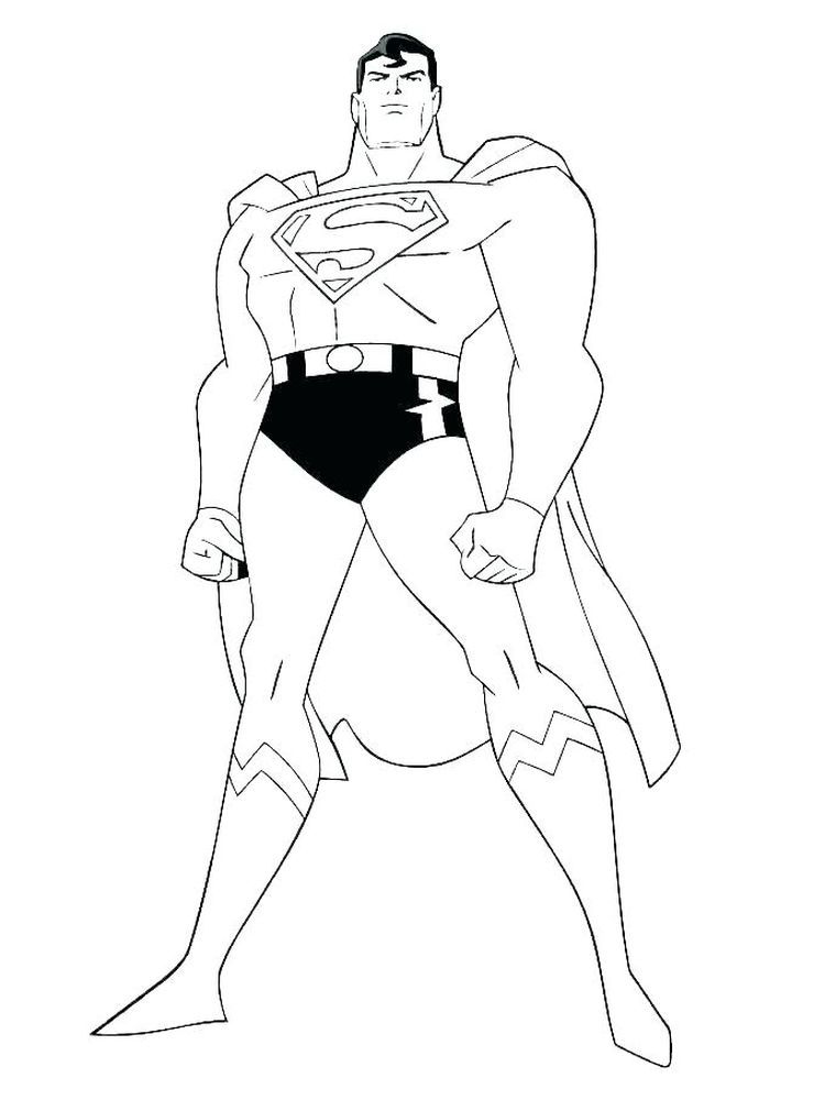 Free Online Superman Coloring Pages We Have A Superman Coloring Page Collection That You C Superman Coloring Pages Superhero Coloring Pages Superhero Coloring
