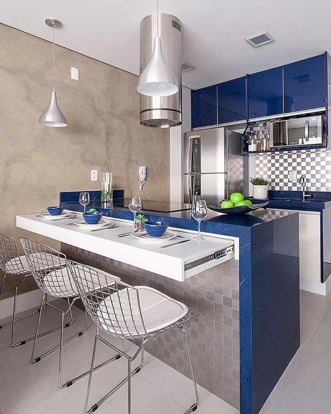 Hezka vesela modra barva linky. | Casa | Pinterest | Cocinas, Cocina ...