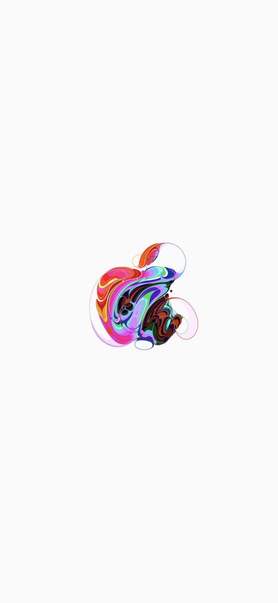 Interpretations Du Logo Apple Pour Des Fonds Decrans Magnifiques En 2020 Logo Apple Font Decran Iphone Fond D Ecran Iphone Apple