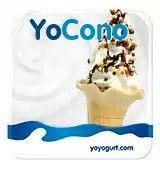 "S=simil #icecream 🍧 #gelato but #yogurt × 20'min. @ Ou. Yoyogurt #alternativebreak #sweet #sugar zucchero ""YOCono"" 🎂 2,50$  filled #darkchocolate #chocolate #cacao #cioccolato fondente #smarties #candies caramelle #sprinkles #nutella , #milk lait latte^ 3 #topping"