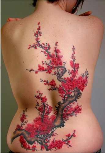 More Than I Would Ever Want But So Gorgeous Blossom Tree Tattoo Cherry Blossom Tattoo Cherry Blossom Tree Tattoo
