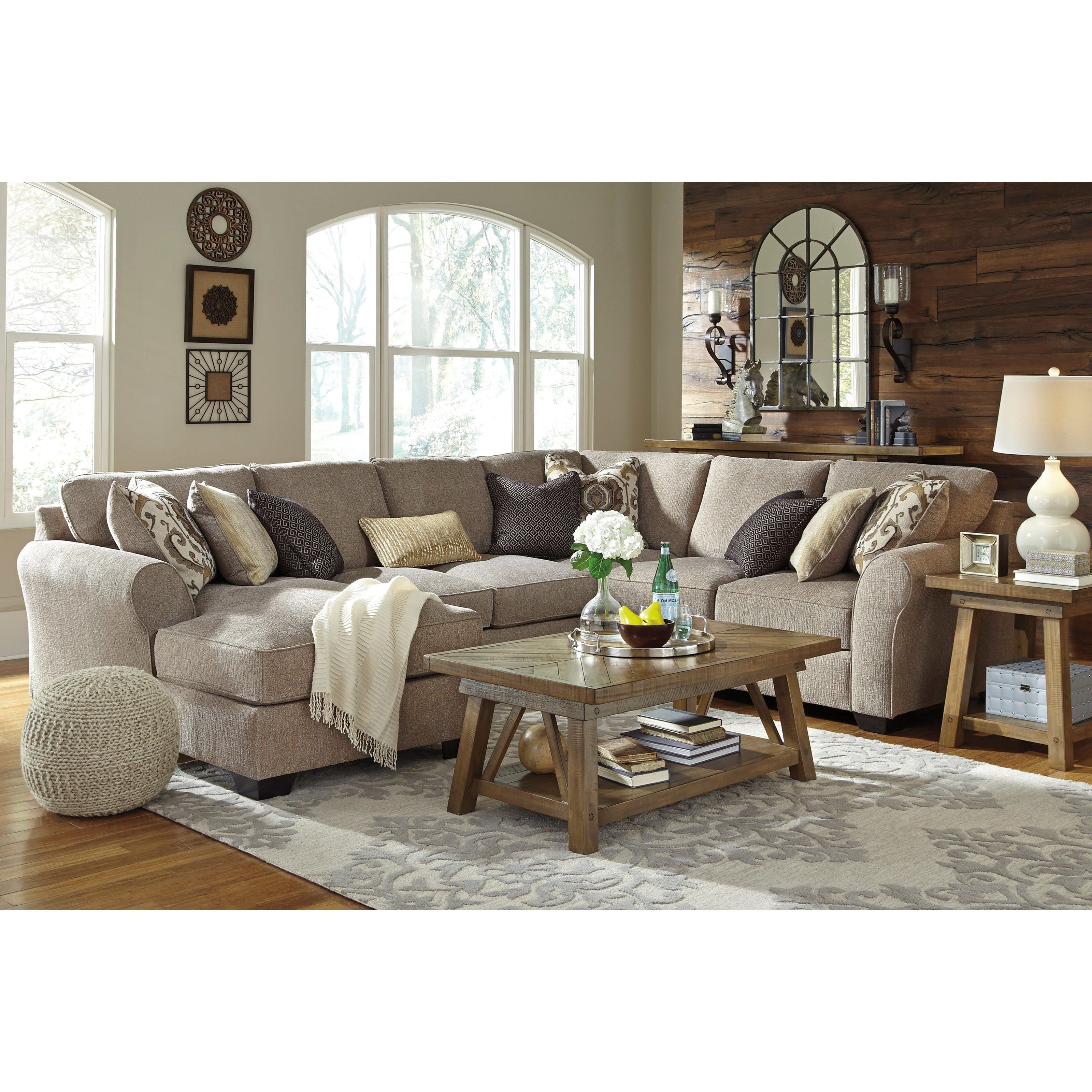 Pantomine 4Piece Sectional with Left Chaise by Benchcraft