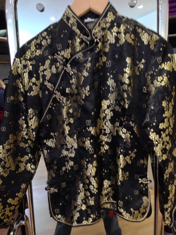 Asiatische Accessoires asiatische seide blusen in kleidung accessoires damenmode blusen