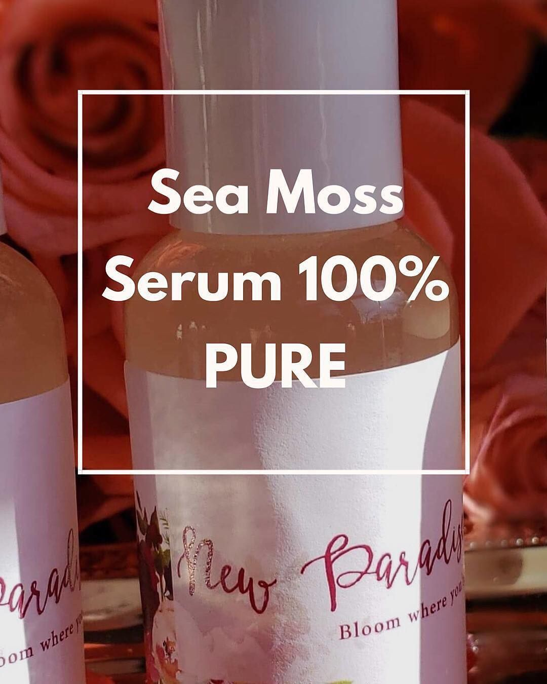 Sea Moss Skin Serum is our STAR product it's 100% concentrated pure col... Sea Moss Skin Serum is our STAR product it's 100% concentrated pure col...,