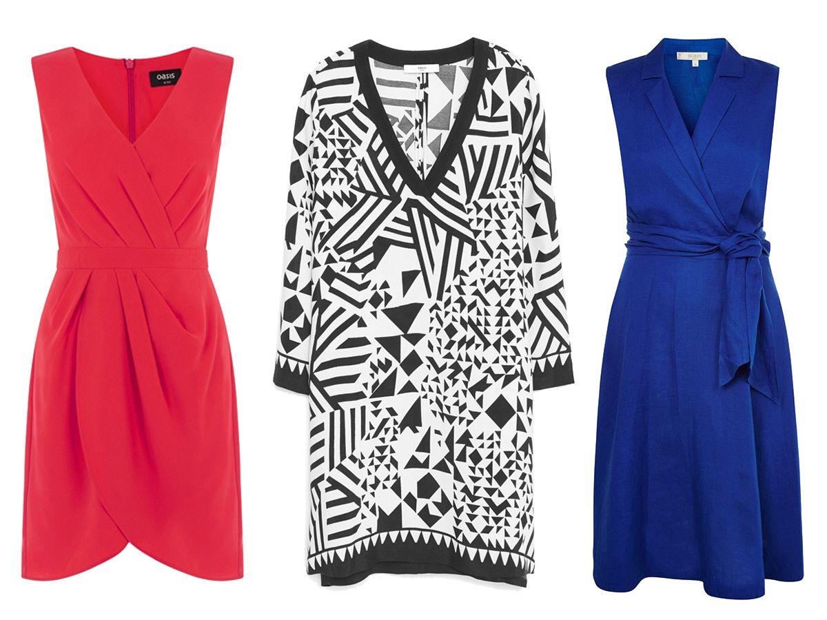 4 Kleider, die einen kleinen Bauch kaschieren  Kleider