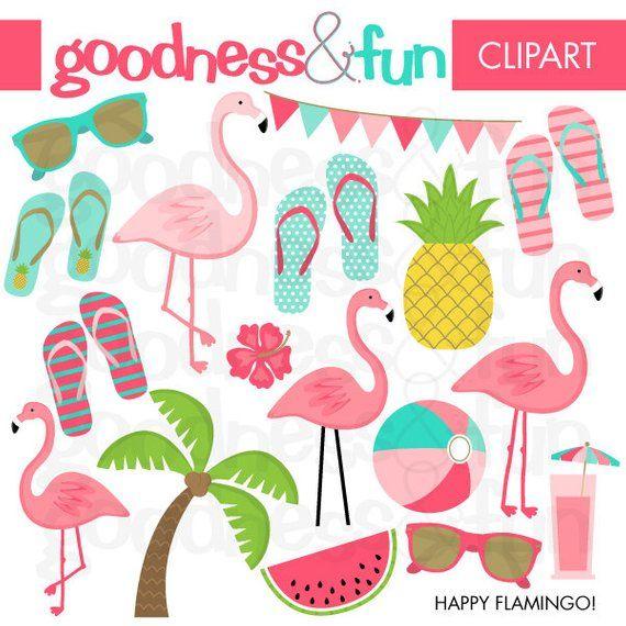 Flamingo summer. Buy get free happy
