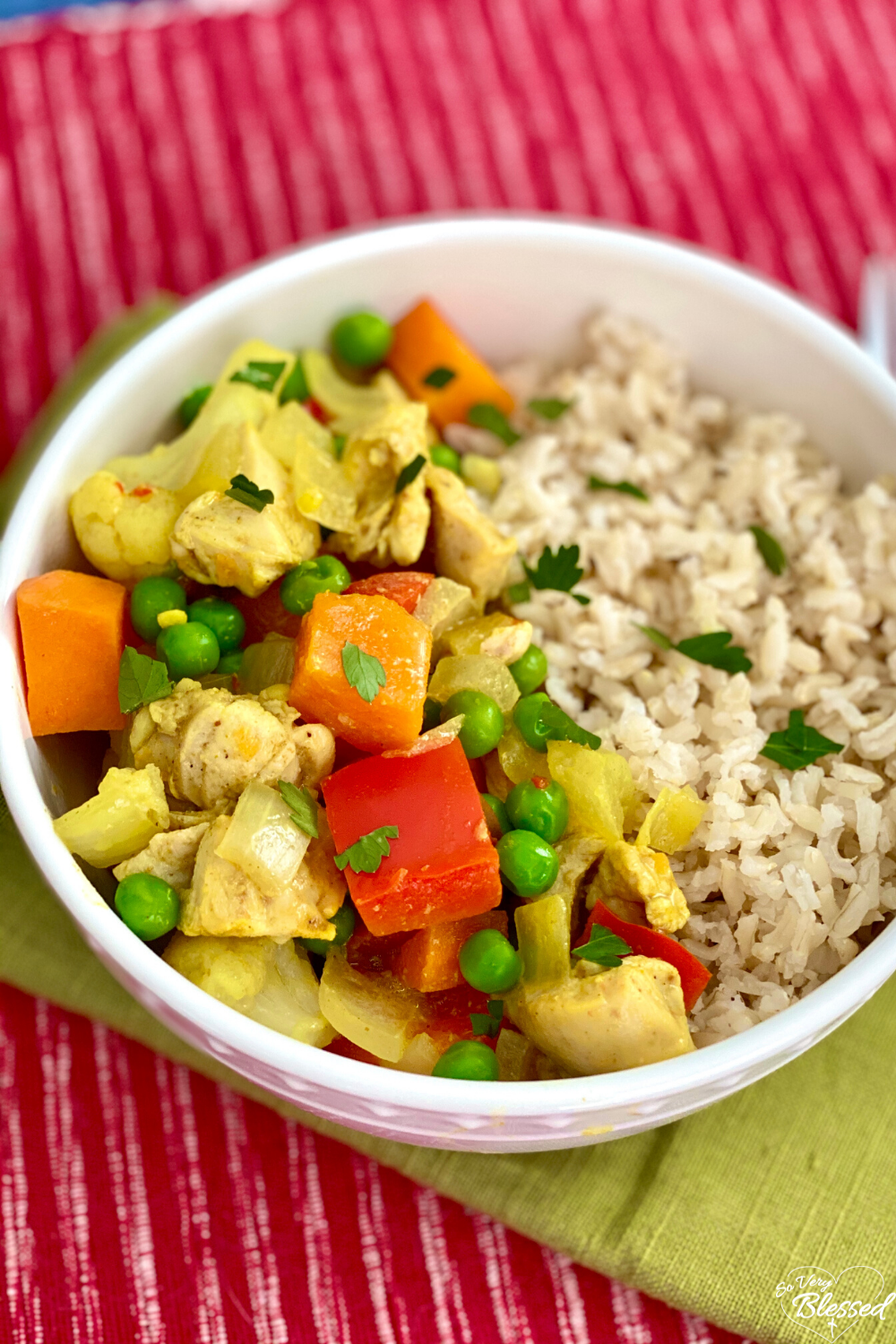 Slow Cooker Chicken Curry Vegetables Recipe Recipe Healthy Crockpot Recipes Vegetable Curry Recipes Slow Cooker Curry