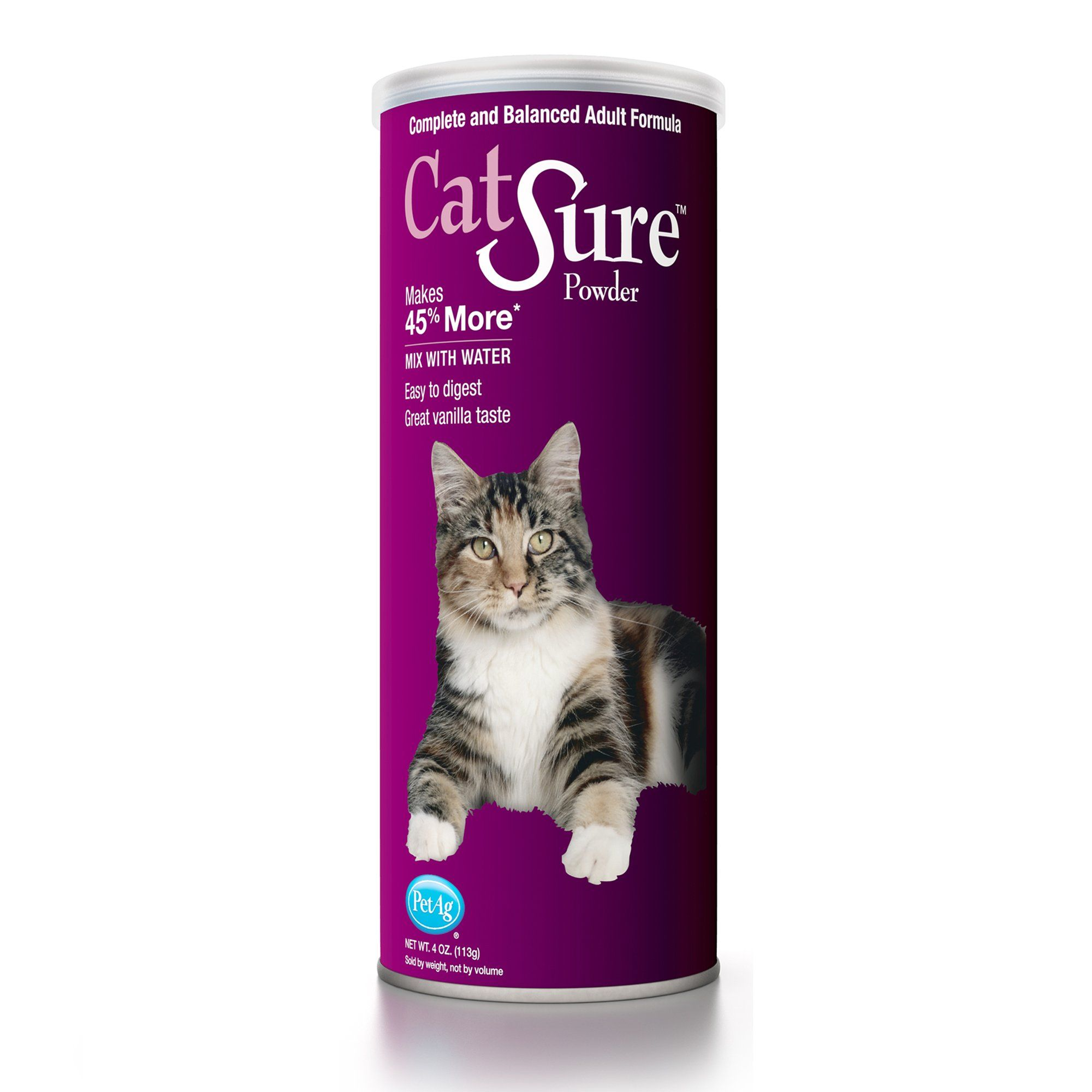 Petag Catsure Powder Meal Replacement For Cats 4 Oz Cat Health