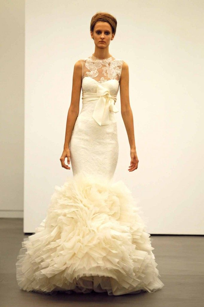 Vera Wang 2013 Fall Bridal Collection Wedding Dress #wedding #gown #bridal