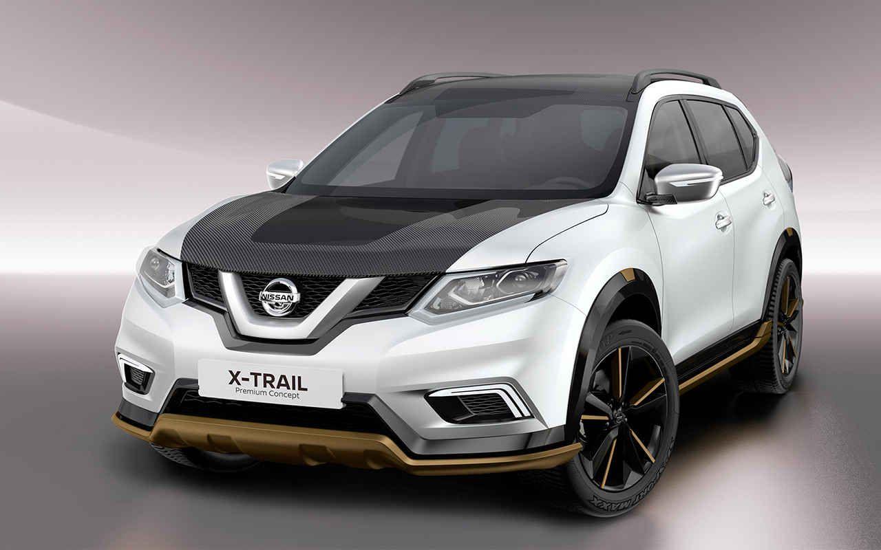 2018 nissan x trail concept rear angle car models 2017 2018