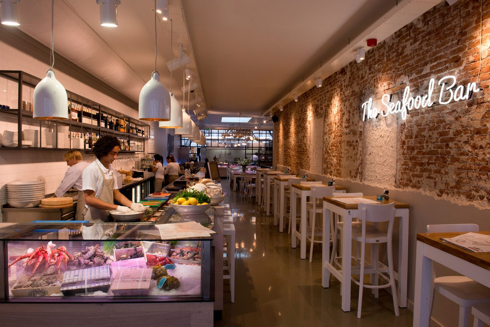 The Seafood Bar - Amsterdam Oud-Zuid | Interior: Restaurant ...