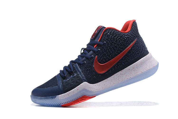 new arrival 5d75e f3941 New Arrival Cheap 2017 Kyrie 3 III Midnight Navy University Red For Men  Basketball Shoes