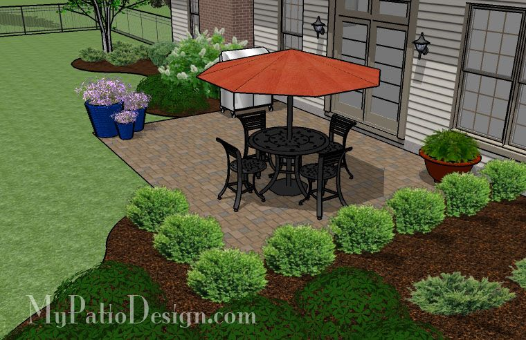 Merveilleux Easy To Build Patio | Patio Designs And Ideas