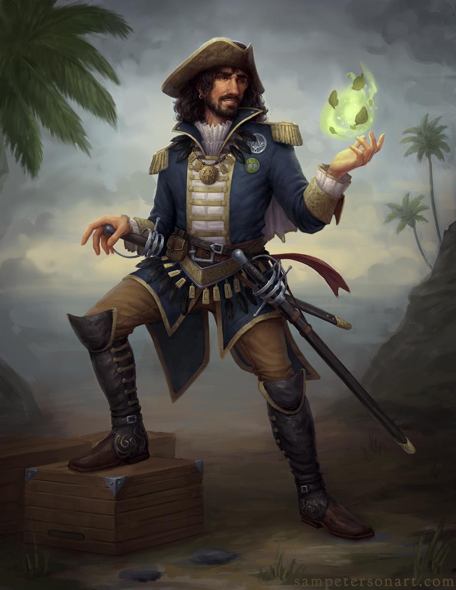 хорошие капитан пиратов арты особенности