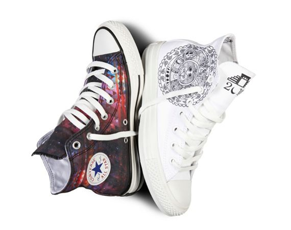 reputable site 5babd 64946 Converse Chuck Taylor All-Star Hi Porcelain Tattoo