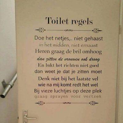Toilet - allerlei | Pinterest - Muurstickers, Badkamer beneden en ...