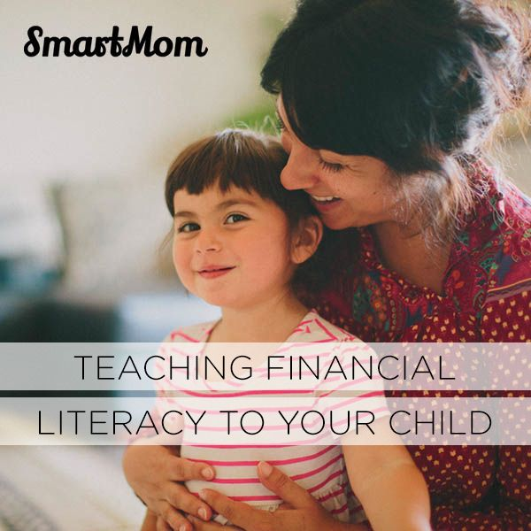 Teaching Financial Literacy to Your Child // SmartMom