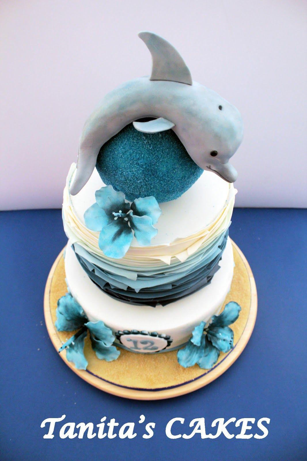 Tanita's CAKES: Dolphin Cake