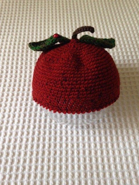 フルーツをイメージしたニットベレー帽です。 サイズ; 頭囲  46ー48cm(伸縮性あり) 深さ 13cm      素材はMade in Turkeyのウー...|ハンドメイド、手作り、手仕事品の通販・販売・購入ならCreema。