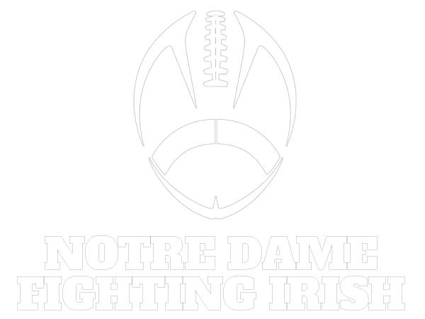 printable notre dame fighting irish coloring sheet norte dame