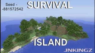 Xbox 360 Survival Island! Seed: -881572542 | Minecraft ideas