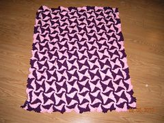 Ravelry: Optical Illusion Afghan pattern by Lois Olson